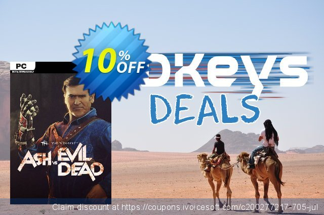 Dead by Daylight PC - Ash vs Evil Dead DLC discount 40% OFF, 2020 Back to School coupons promo sales