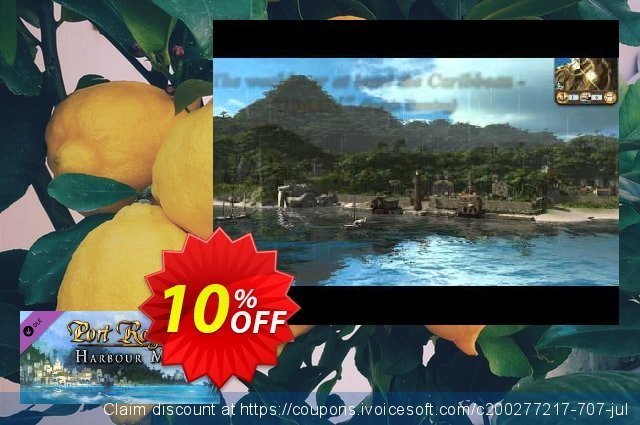 Port Royale 3 Harbour Master DLC PC discount 10% OFF, 2020 Halloween offering sales