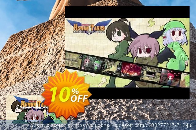 War of the Human Tanks Limited Operations PC discount 10% OFF, 2020 University Student deals offering sales