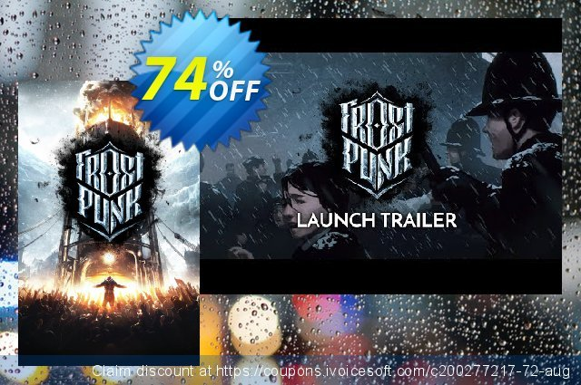 Frostpunk PC discount 66% OFF, 2020 Halloween sales