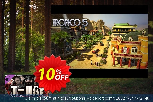 Tropico 5 TDay PC discount 10% OFF, 2020 Back to School event offering discount