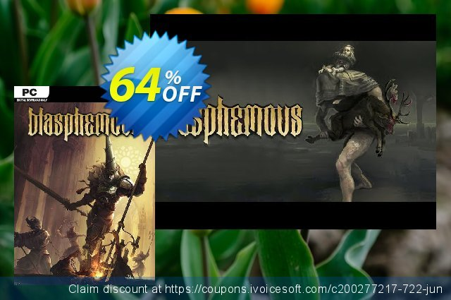 Blasphemous PC discount 70% OFF, 2020 Back-to-School promotions offering sales