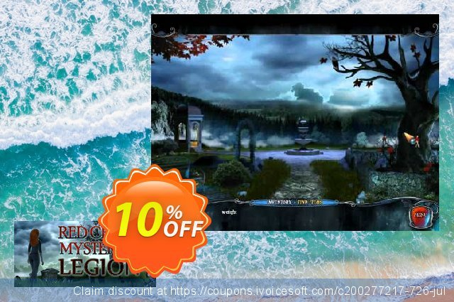 Red Crow Mysteries Legion PC discount 10% OFF, 2020 Back to School coupons offering sales