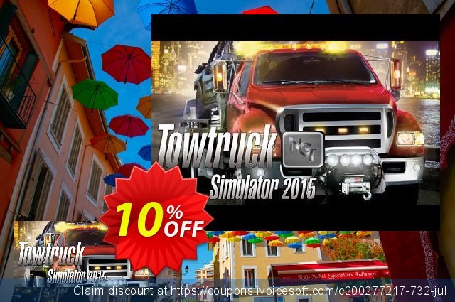 Towtruck Simulator 2015 PC discount 10% OFF, 2020 University Student offer offering sales