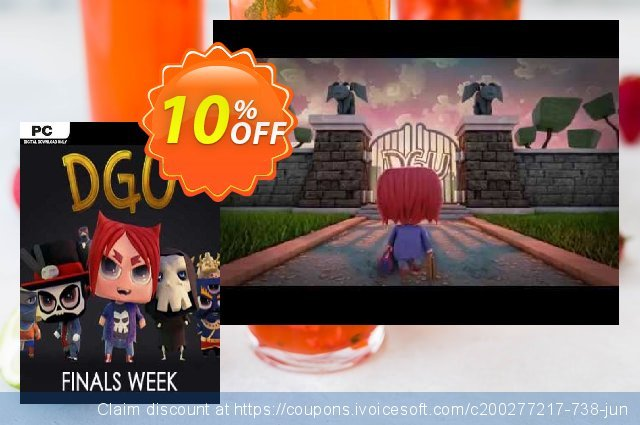 DGU Finals Week PC discount 10% OFF, 2020 Christmas Day offering sales