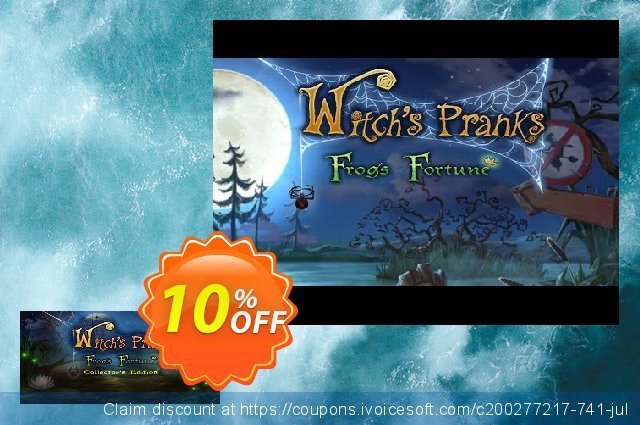 Witch's Pranks Frog's Fortune Collector's Edition PC  특별한   촉진  스크린 샷