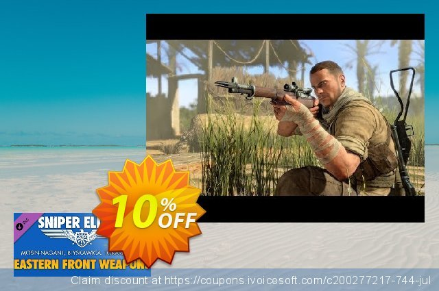 Sniper Elite 3 Eastern Front Weapons Pack PC discount 10% OFF, 2020 Back to School deals promo
