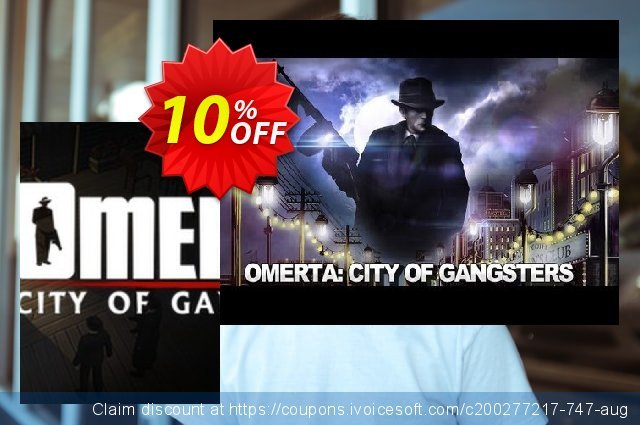 Omerta City of Gangsters PC discount 10% OFF, 2021 Mother's Day promo sales. Omerta City of Gangsters PC Deal
