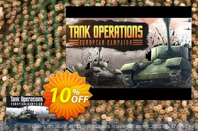 Tank Operations European Campaign PC 令人惊讶的 折扣 软件截图