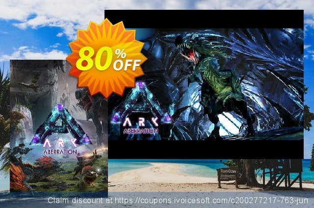 ARK Survival Evolved PC - Aberration DLC discount 80% OFF, 2020 Back to School event promo