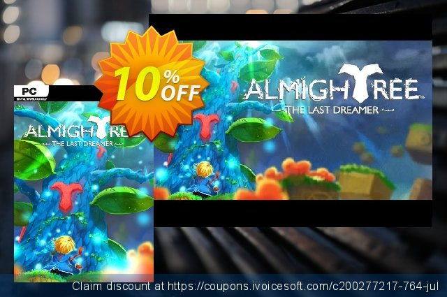 Almightree The Last Dreamer PC discount 10% OFF, 2020 Back-to-School promotions offering sales