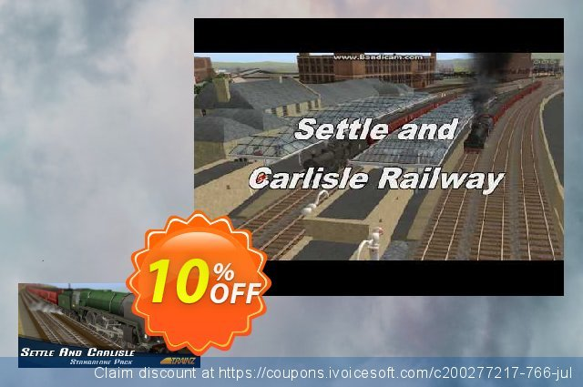 Trainz Settle and Carlisle PC discount 10% OFF, 2020 Halloween offering sales