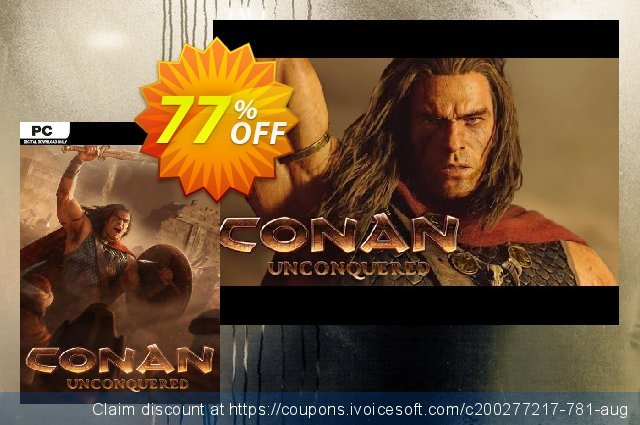 Conan Unconquered PC discount 72% OFF, 2020 Back to School Promos promo sales
