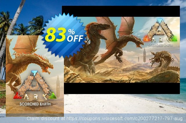 ARK Survival Evolved PC - Scorched Earth DLC discount 83% OFF, 2020 Teacher deals offering discount