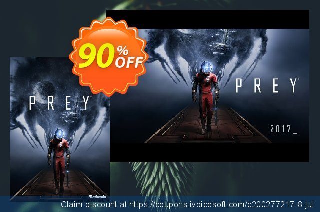 Prey PC + DLC discount 91% OFF, 2021 New Year promotions