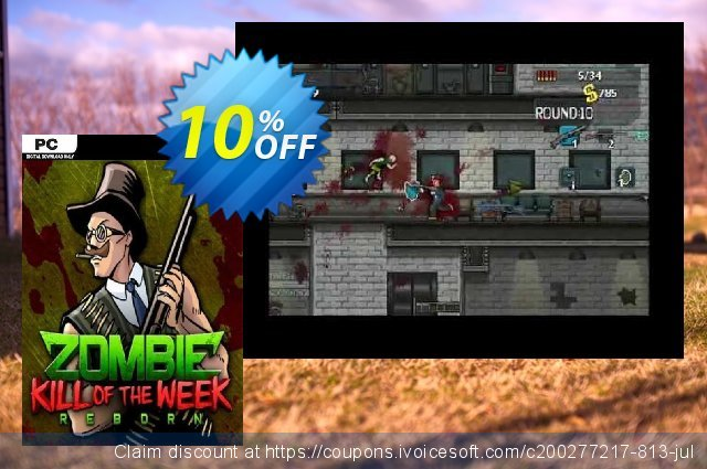 Zombie Kill of the Week Reborn PC discount 10% OFF, 2020 Year-End offering discount