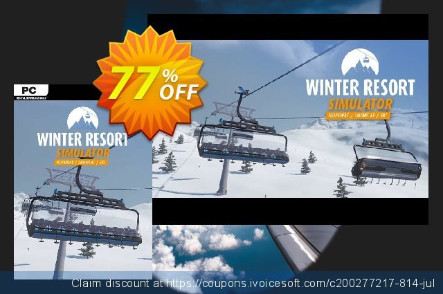 Winter Resort Simulator PC discount 44% OFF, 2020 Exclusive Student discount offer