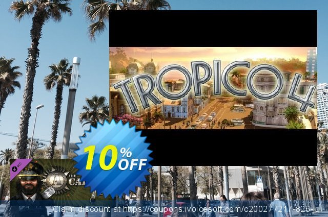 Tropico 4 The Academy PC discount 10% OFF, 2020 Back to School event offering sales