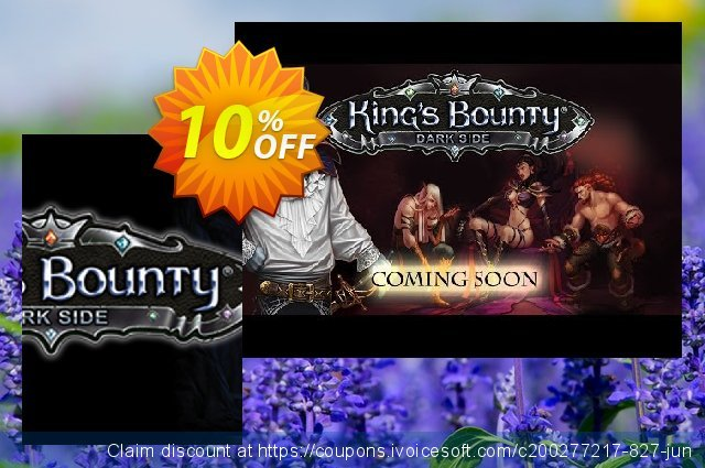 King's Bounty Dark Side PC discount 10% OFF, 2020 Back-to-School promotions offering sales