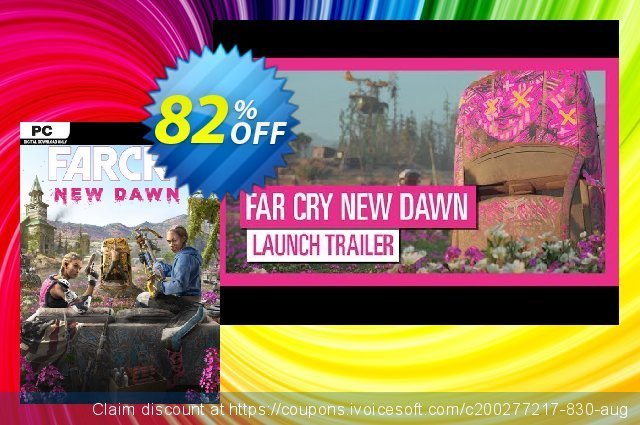 Far Cry New Dawn PC discount 63% OFF, 2021 January offering sales