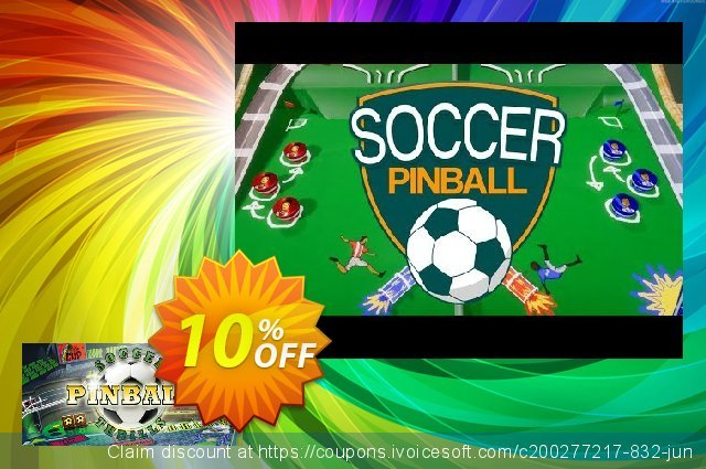 Soccer Pinball Thrills PC discount 10% OFF, 2020 Back to School season deals