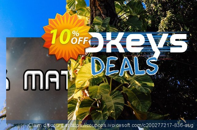 Dark Matter PC discount 10% OFF, 2020 Halloween offering deals