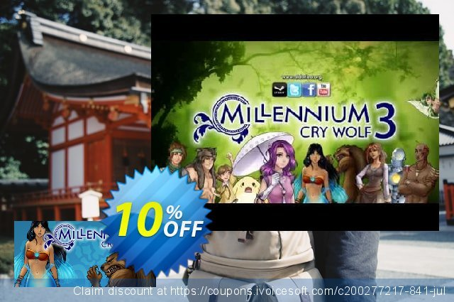 Millennium 3 Cry Wolf PC discount 10% OFF, 2020 College Student deals offering sales