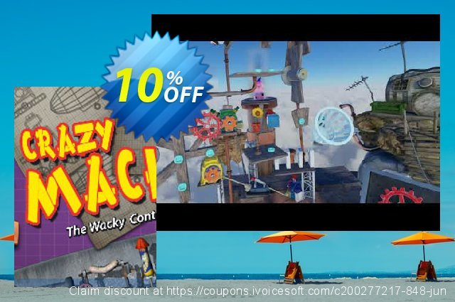 Crazy Machines PC discount 10% OFF, 2020 Back-to-School promotions discounts
