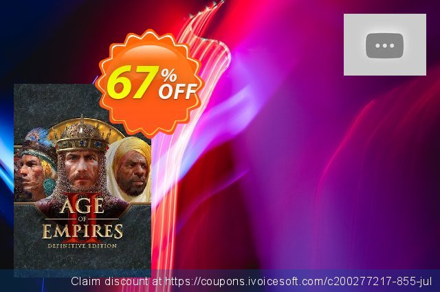 Age of Empires II: Definitive Edition PC 美妙的 产品销售 软件截图