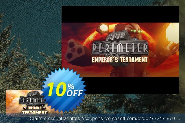 Perimeter Emperor's Testament PC discount 10% OFF, 2021 New Year's Day offering sales