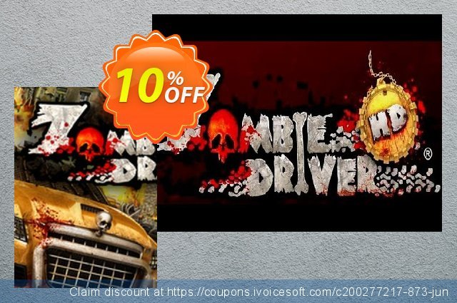 Zombie Driver HD PC discount 10% OFF, 2020 Back to School coupons offering discount