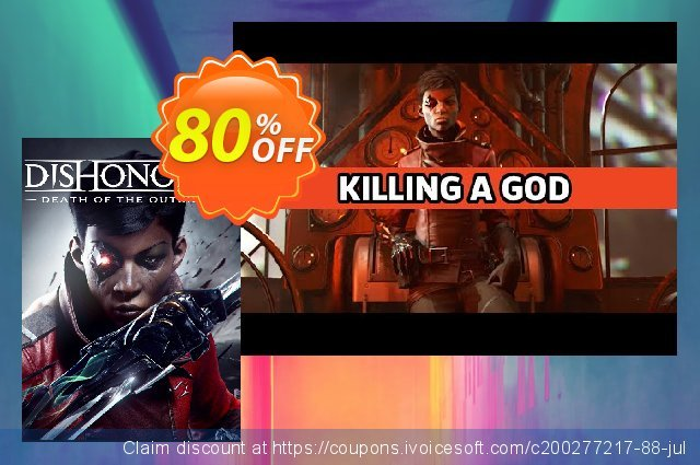 Dishonored: Death of the Outsider PC  위대하   세일  스크린 샷