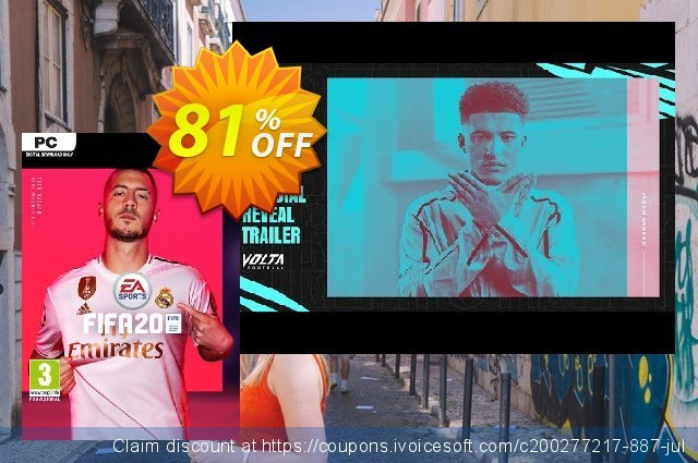 FIFA 20 PC discount 69% OFF, 2020 Back to School Promos discounts