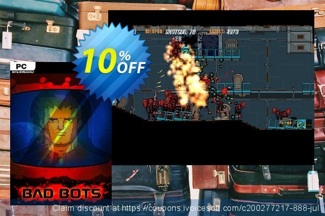 Bad Bots PC discount 10% OFF, 2020 Back to School promo sales