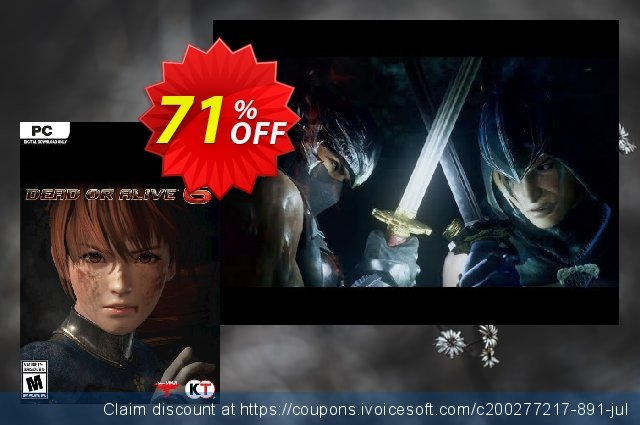Dead or Alive 6 PC discount 18% OFF, 2020 Back to School deals discount