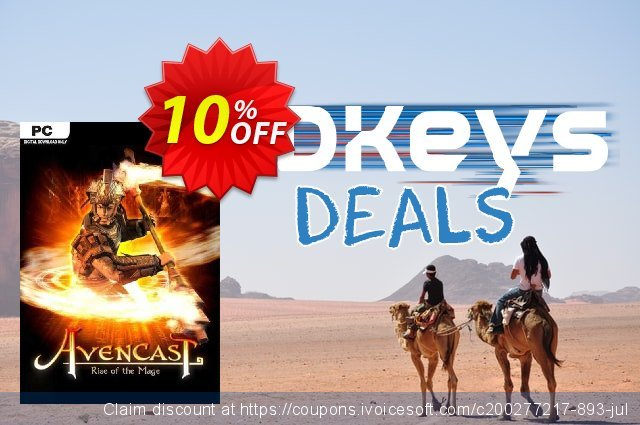 Avencast Rise of the Mage PC discount 10% OFF, 2020 Back to School offer offering sales