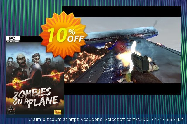 Zombies on a Plane PC discount 10% OFF, 2020 Back to School season promo sales