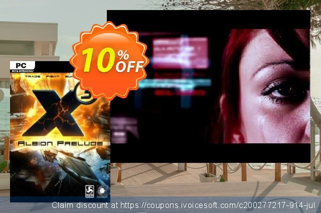 X3 Albion Prelude PC discount 10% OFF, 2020 Back to School offer promo sales