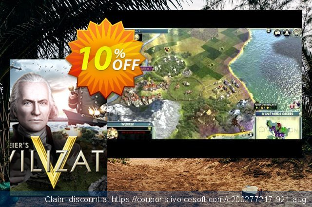 Sid Meier's Civilization V PC discount 10% OFF, 2020 University Student offer offering sales