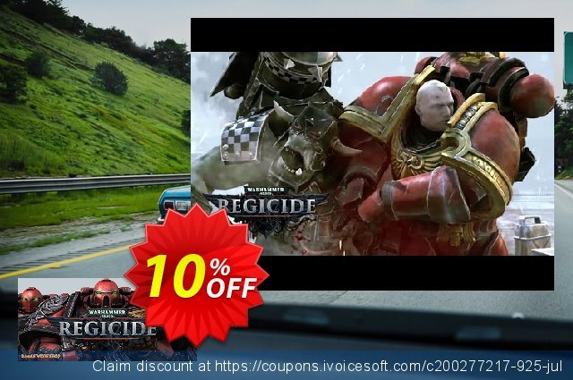 Warhammer 40000 Regicide PC discount 10% OFF, 2020 College Student deals promotions