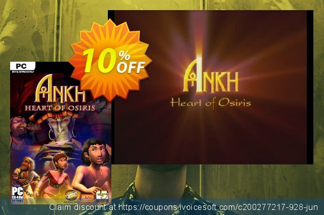 Ankh 2 Heart of Osiris PC discount 10% OFF, 2020 Back to School Promos offer