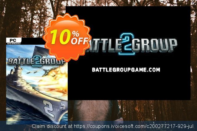 Battle Group 2 PC discount 10% OFF, 2020 Back to School promotion discount