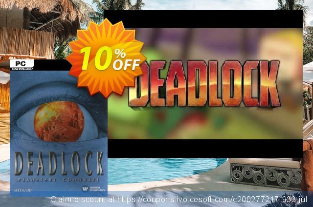 Deadlock Planetary Conquest PC discount 10% OFF, 2021 All Saints' Eve promo. Deadlock Planetary Conquest PC Deal