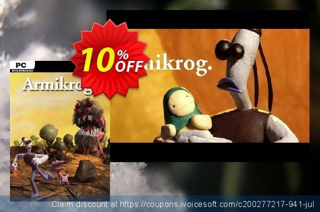 Armikrog PC discount 10% OFF, 2020 Exclusive Teacher discount offering sales