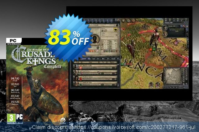 Crusader Kings: Complete PC discount 88% OFF, 2020 Exclusive Student discount offering sales