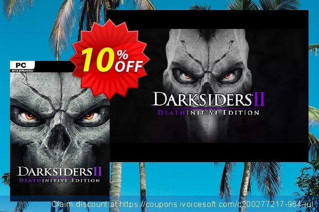 Darksiders II Deathinitive Edition PC discount 10% OFF, 2020 Halloween deals