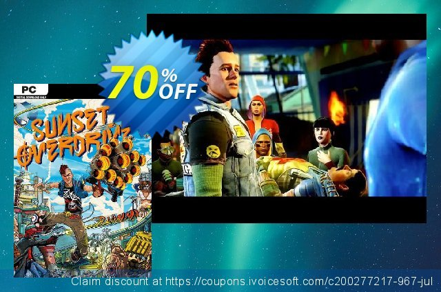 Sunset Overdrive PC discount 30% OFF, 2020 Halloween offering discount