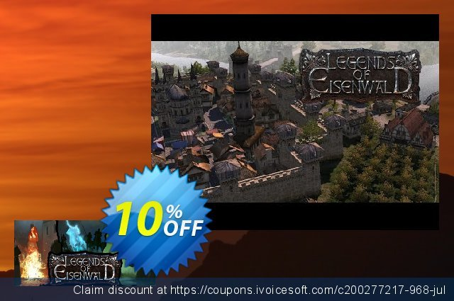 Legends of Eisenwald PC discount 10% OFF, 2020 College Student deals offering discount