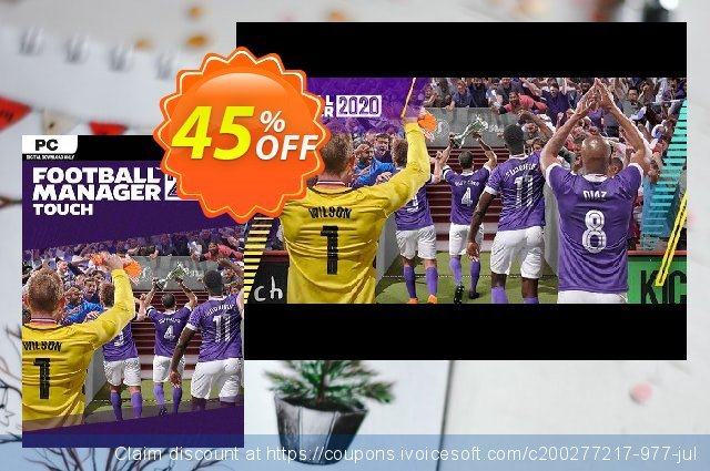 Football Manager 2020 Touch PC (WW) discount 10% OFF, 2020 Back to School offer offering sales