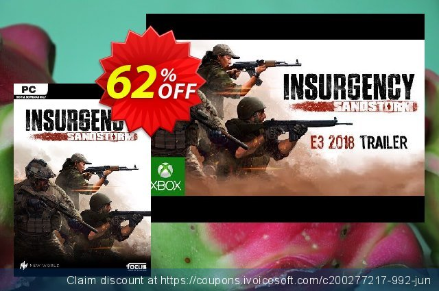 Insurgency: Sandstorm PC discount 40% OFF, 2020 Back to School promotion offering sales